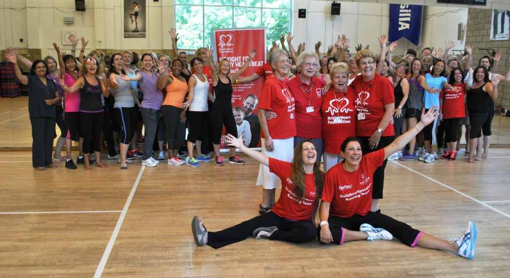 Get Red-dy to Workout in Red on February 6 for BHF!