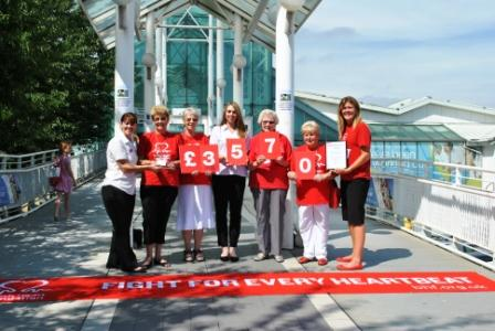 Guildford Spectrum have raised £3573.12 for the British Heart Foundation in the last year