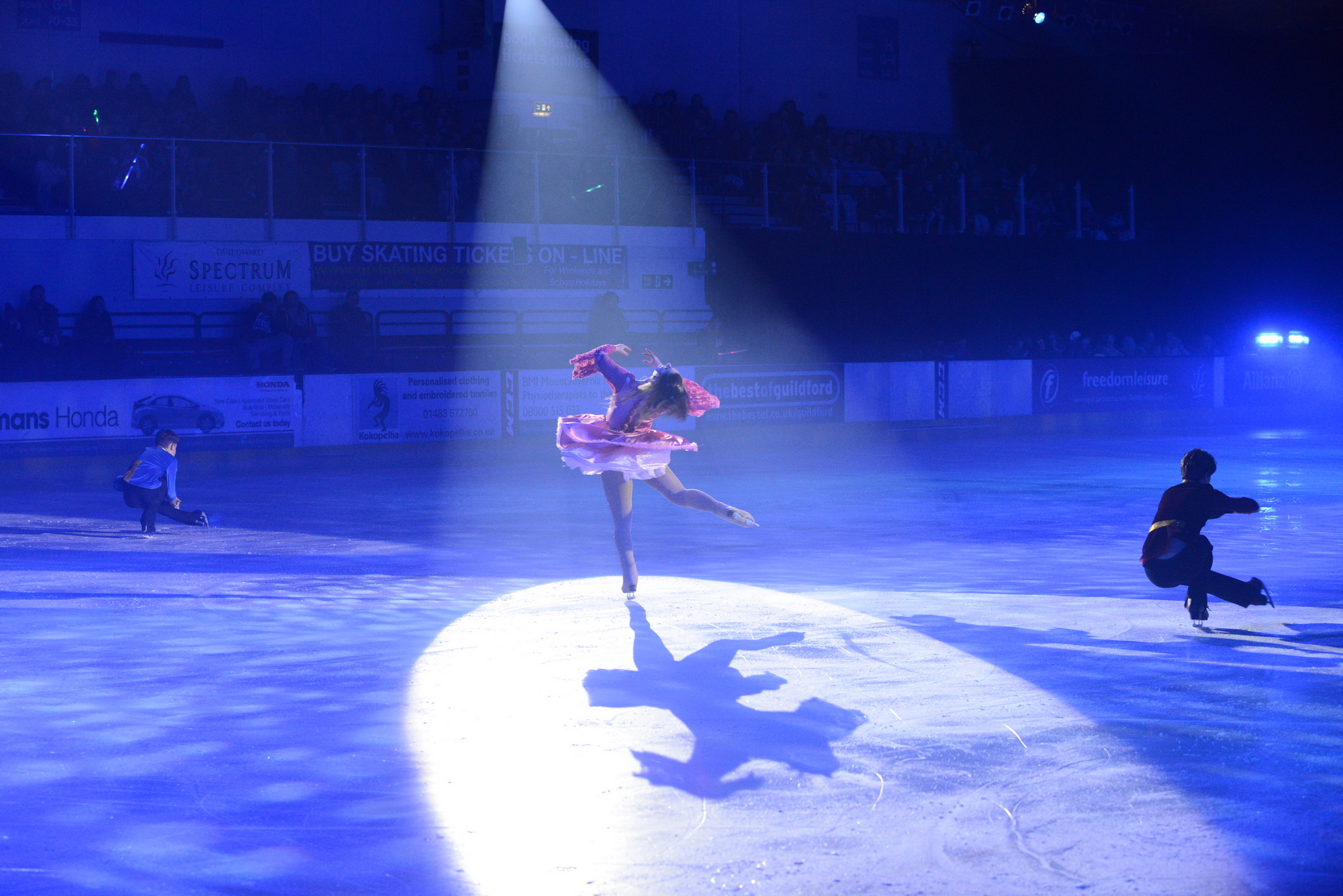 Panto on Ice - a huge success!