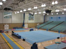 gymnastics arena