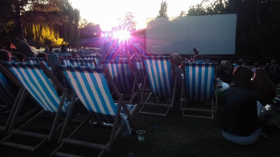 Summer Nights at Guildford Lido