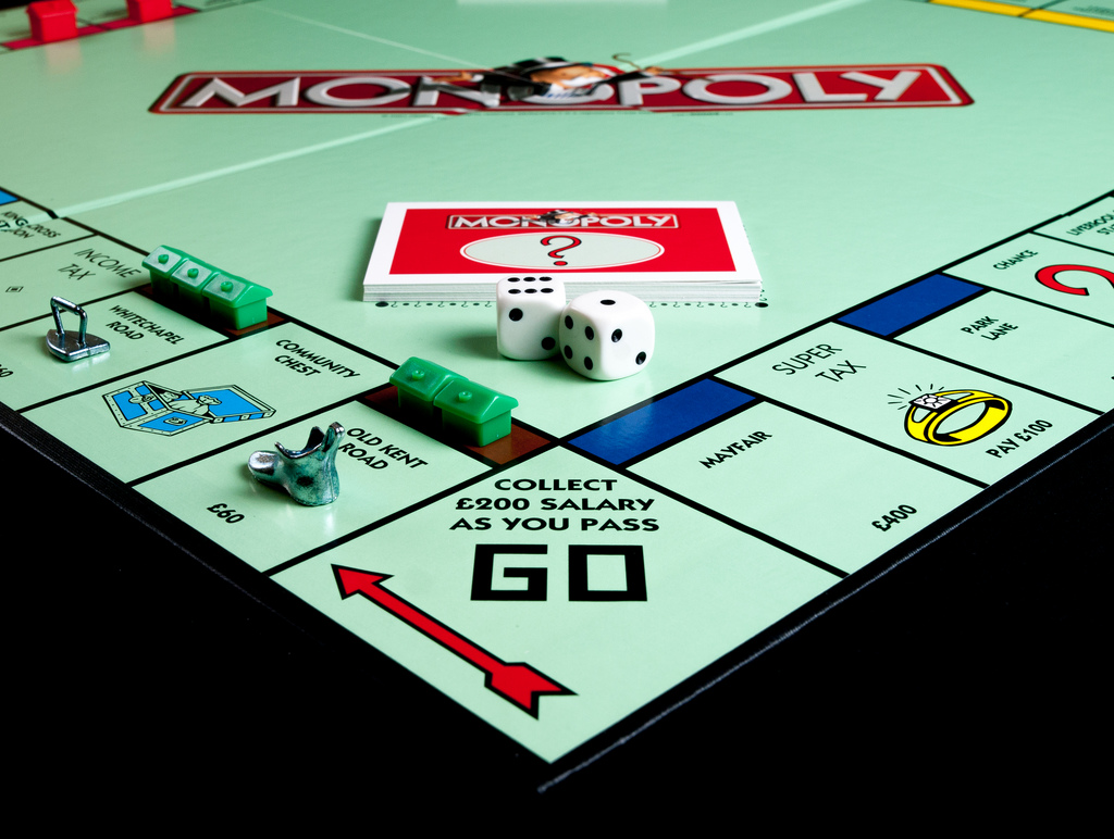 Guildford's Monopoly Board - Vote for us!